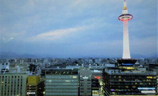 京都駅からの景色