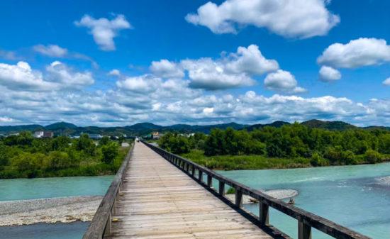 静岡島田 ギネス認定!蓬莱橋で絶景散歩♪ | トラベルダイアリー