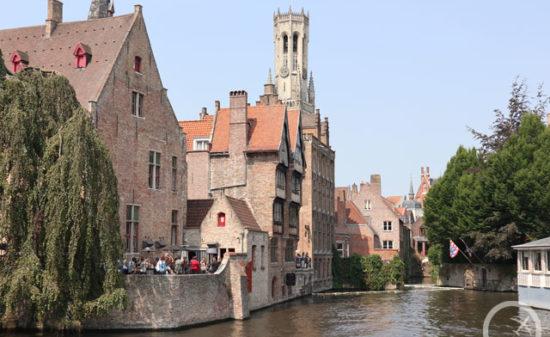 ベルギーに行ったら訪れたい!中世の街並みが可愛いブルージュ| トラベルダイアリー