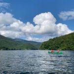 小野川湖カヌー