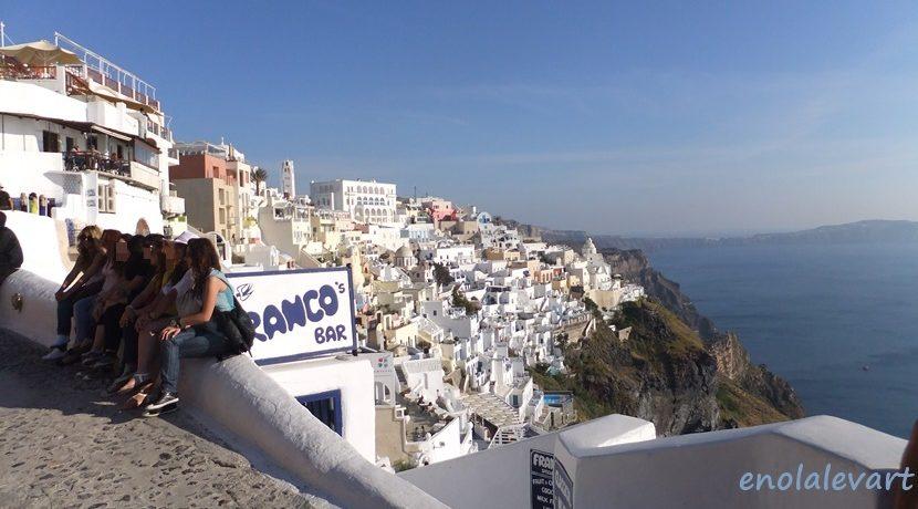 女子一人旅 in ギリシャ 白と青の街にキュン!サントリーニ島| トラベルダイアリー