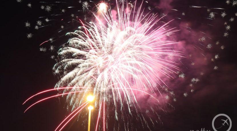 街中が花火の光に包まれる!レイキャビクの年越し花火  トラベルダイアリー